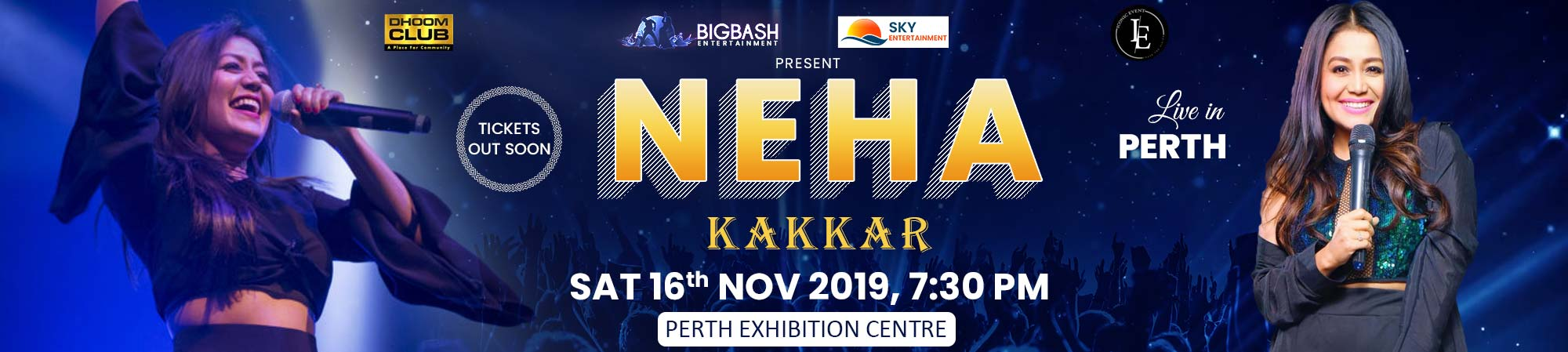 Selfie Queen Neha Kakkar Live in Perth 2019
