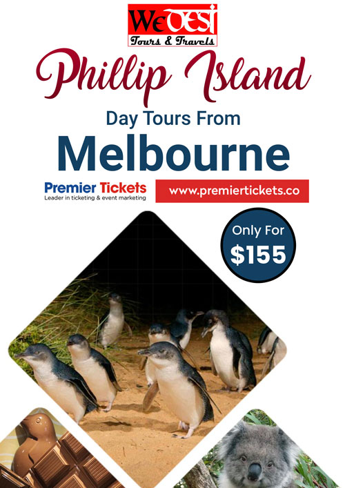 Phillip Island Day Tour Including Lunch and Refreshments – 9 Nov