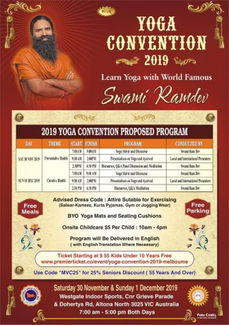 Yoga Convention 2019 – Melbourne