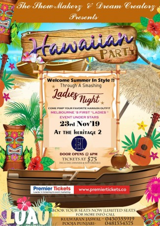 HAWAIIAN PARTY – Ladies Night
