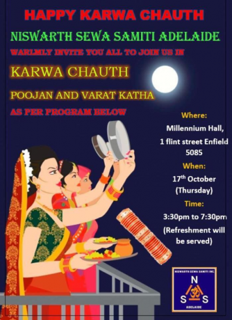 KARWA CHAUTH POOJAN AND VARAT KATHA – FREE ENTRY