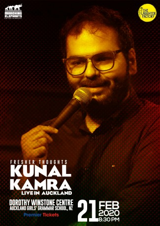 Fresher Thoughts by Kunal Kamra in Auckland