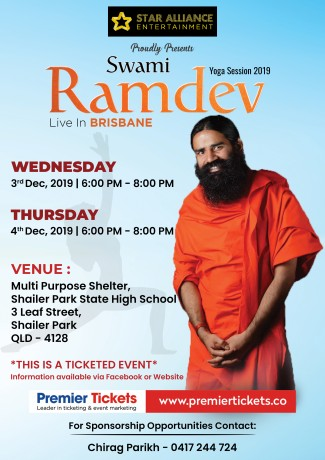 Yoga Session 2019 – Swami Ramdev Live in Brisbane