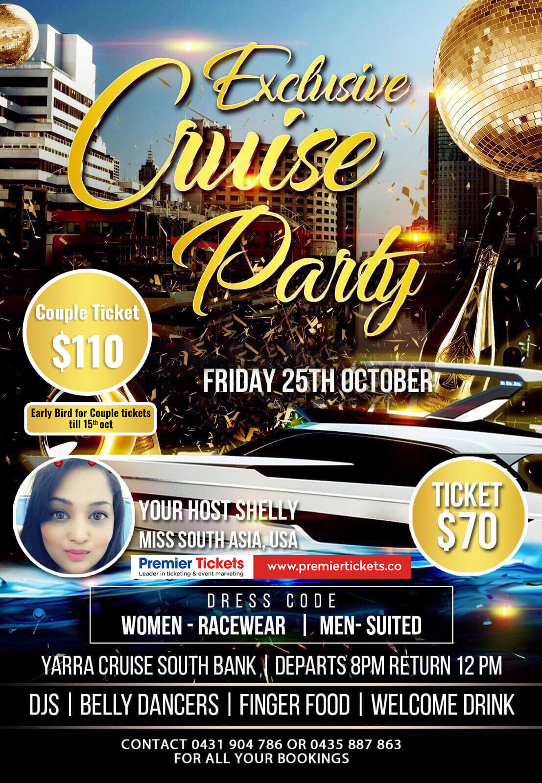 Exclusive Cruise Party – Melbourne