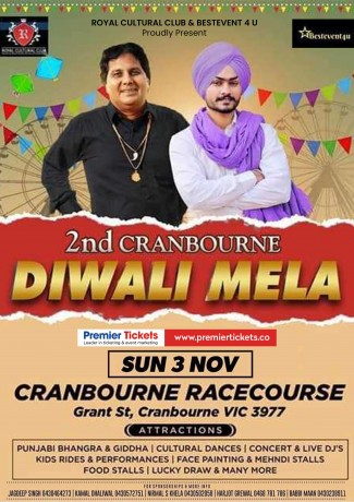 2nd Cranbourne Diwali Mela 2019