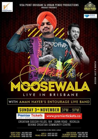 SIDHU MOOSE WALA Live in Brisbane