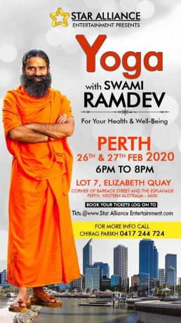 Yoga Session 2020 – Swami Ramdev Live in Perth