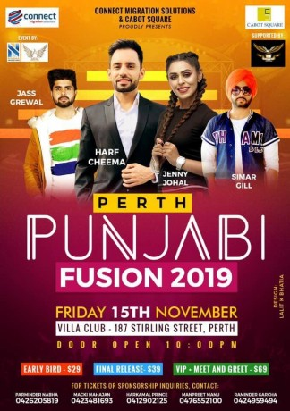 Punjabi Fusion in Perth 2019