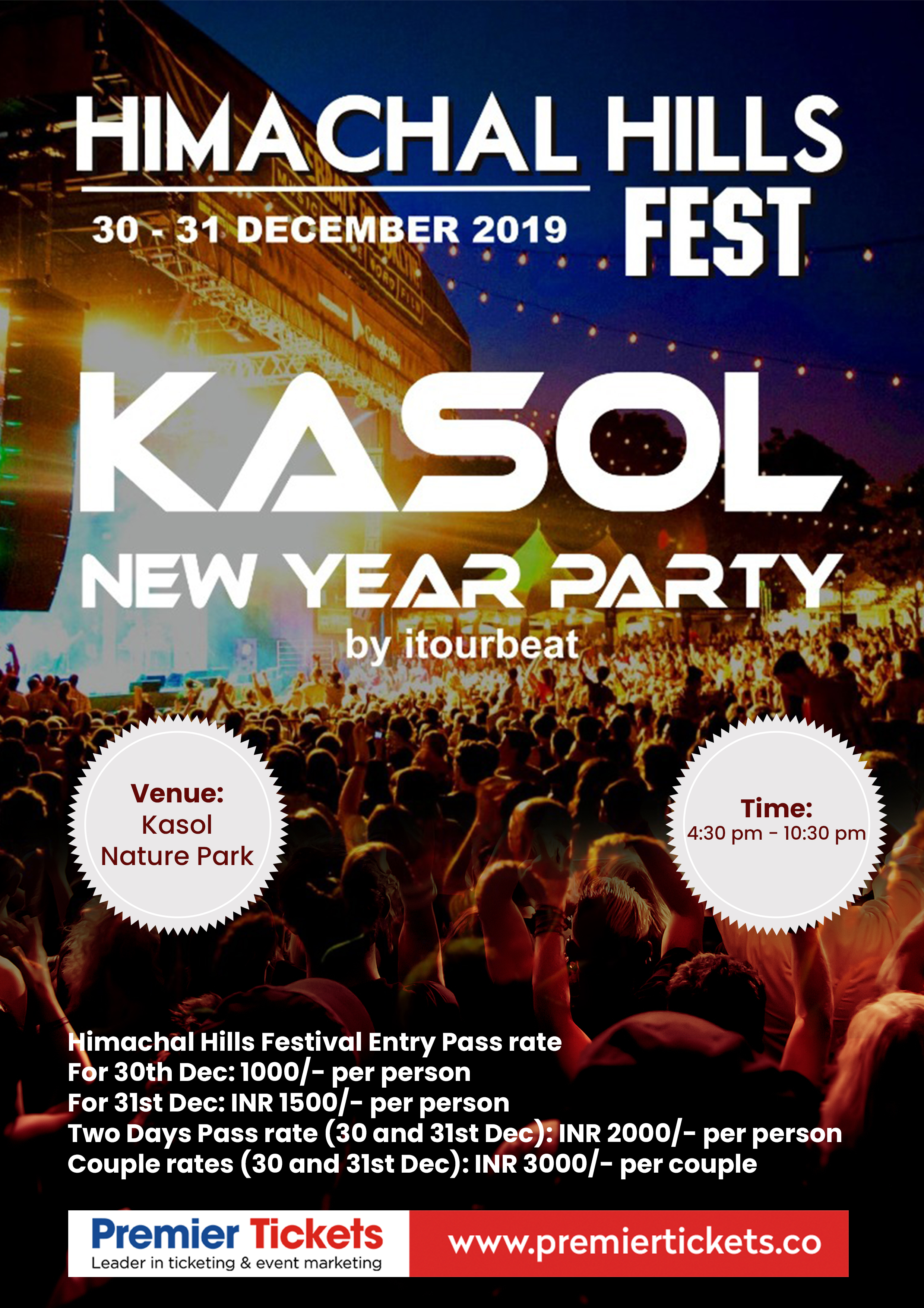 Himachal Hills Festival (Kasol New Year Party)