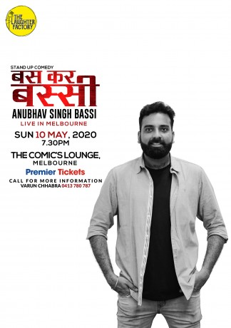 Standup Comedy by Anubhav Bassi – Melbourne
