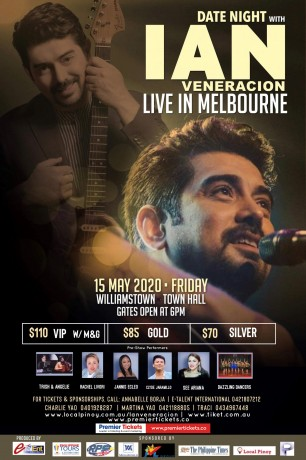 Date Night with Ian Veneracion – Live In Melbourne