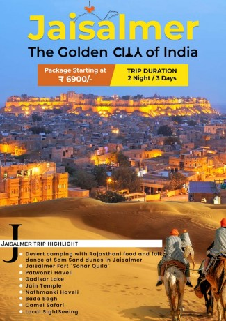 Trip to Jaisalmer: The Golden City of India