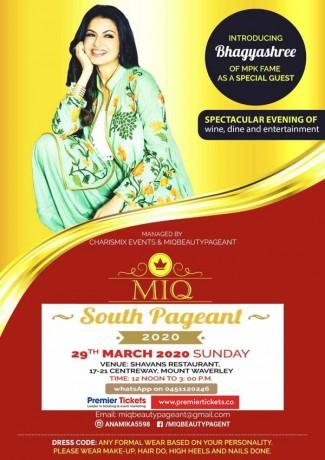 MIQ South Pageant 2020