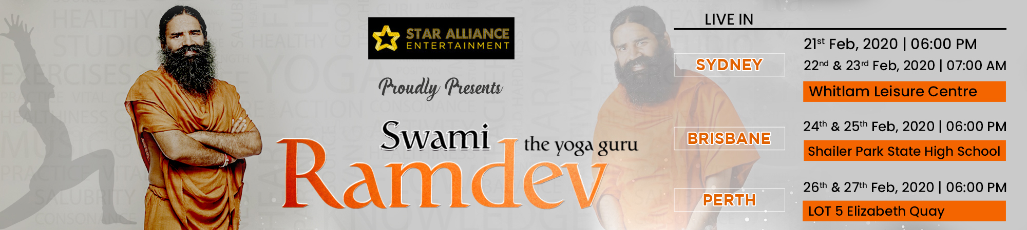 Yoga Session 2020 – Swami Ramdev Live in Australia