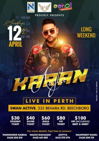 Karan Aujla Live in Perth