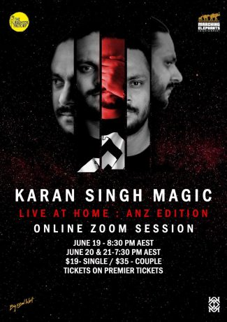 Karan Singh Magic - Online Zoom Session (Friday 19th June)
