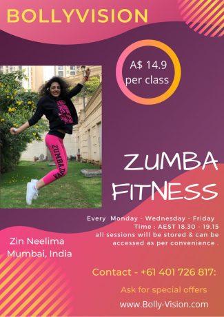 Zumba Fitness - 3 Days Online Class Per Week