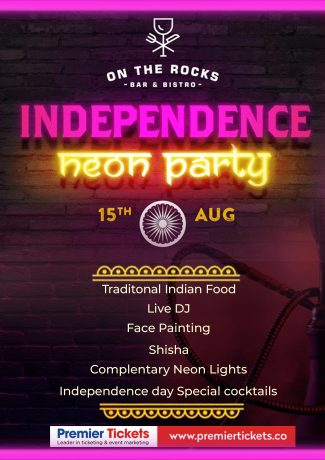 Independence Day Neon Party