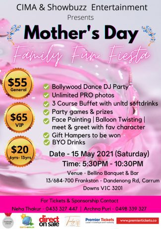 Mother's Day Family Fiesta