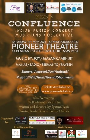CONFLUENCE INDIAN MUSIC CONCERT