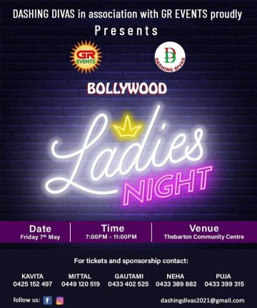Bollywood Ladies Night 2021