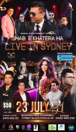 SHAB E KHATERA HA – Live In Sydney