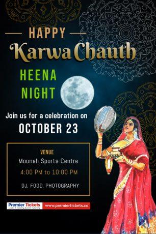 Karwa Chauth 2021- HEENA NIGHT