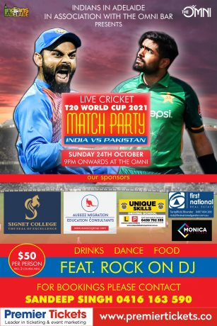 MATCH PARTY - T20 World Cup 2021 IND vs PAK